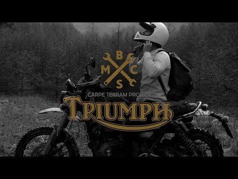 BSMC X TRIUMPH CARPE TERRAM PROJECT