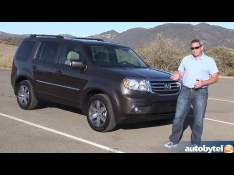 2013 Honda Pilot Test Drive U0026 Crossover SUV Video Review