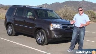 2013 Honda Pilot Test Drive & Crossover SUV Video Review