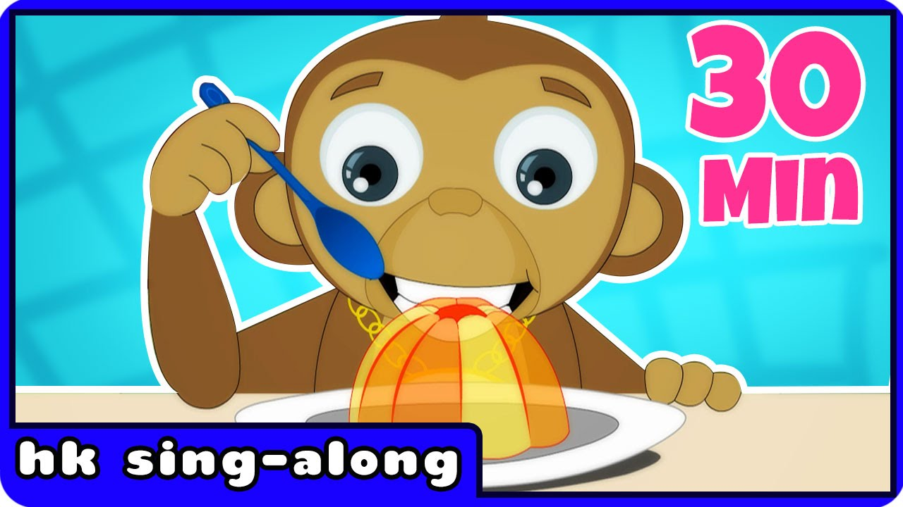 Nursery Rhymes For Children | Jelly On A Plate & More Songs For Children | HooplaKidz Sing-A-Long