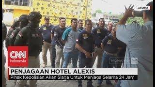 Antisipasi Demo, Polisi Bersiaga Di Hotel Alexis