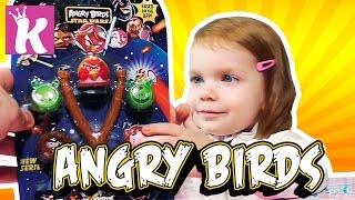ЭНГРИ БЕРДС ЗВЕЗДНЫЕ ВОЙНЫ Распаковка Игрушки ANGRY BIRDS STAR WARS unboxing toys