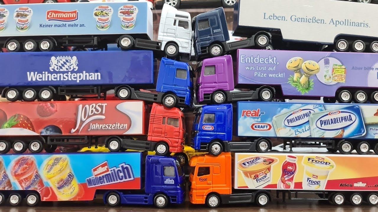 Commercial trucks, food trucks, German Trucks, Model Trucks driving