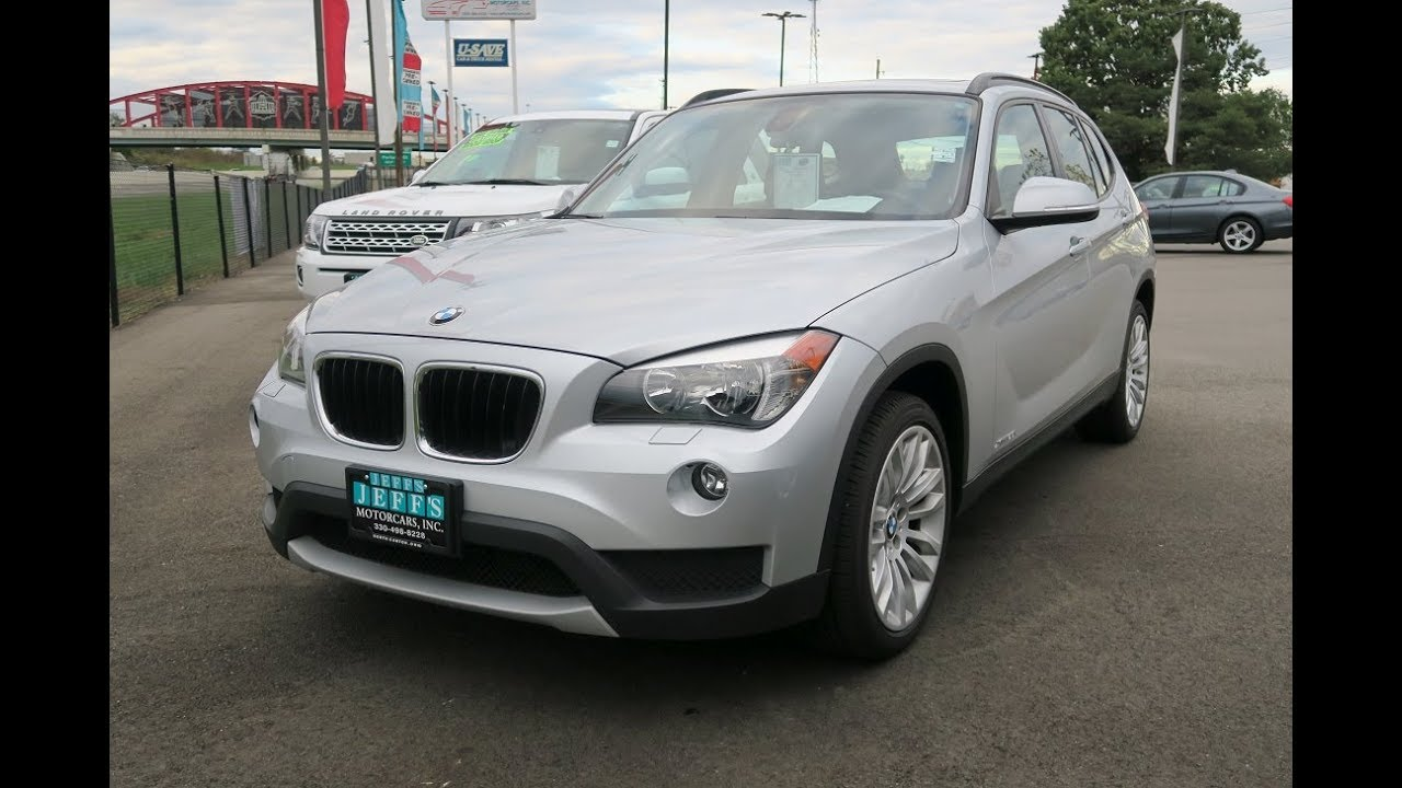 2014 bmw x1 xdrive28i for sale in canton ohio jeff 39 s motorcars youtube. Black Bedroom Furniture Sets. Home Design Ideas