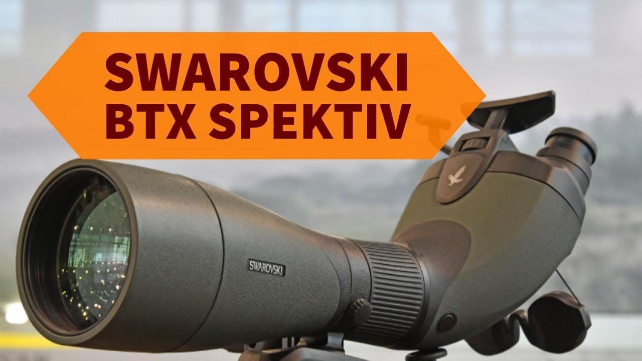 Swarovski optik btx spektiv: was kann das swarovski btx teleskop für