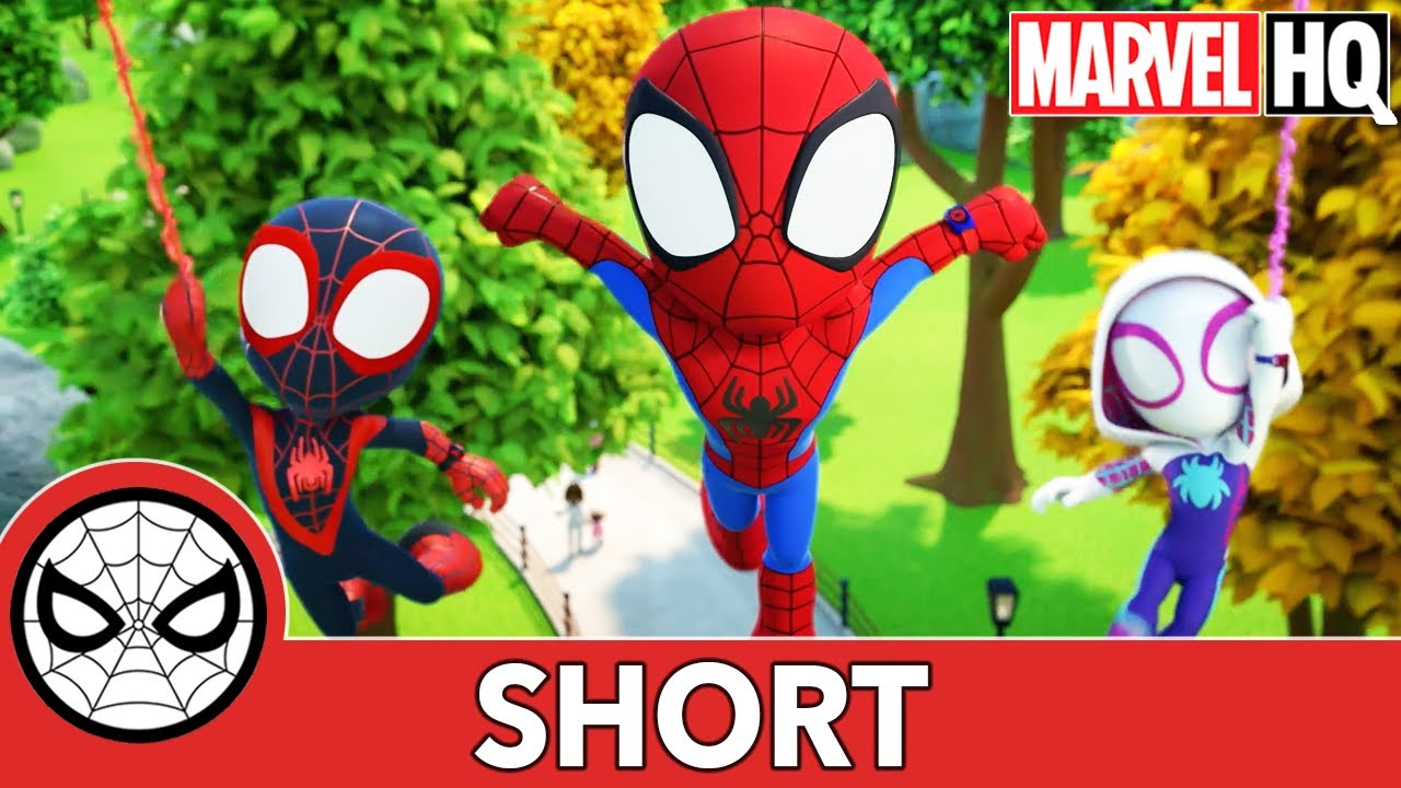Download The Spidey Team | Marvel's Spidey and His Amazing Friends | @Disney Junior @Marvel HQ