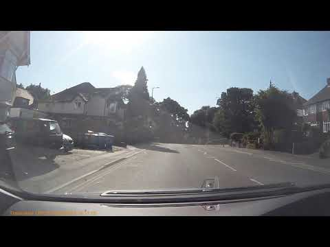 Car Crash - Bournemouth Road Poole