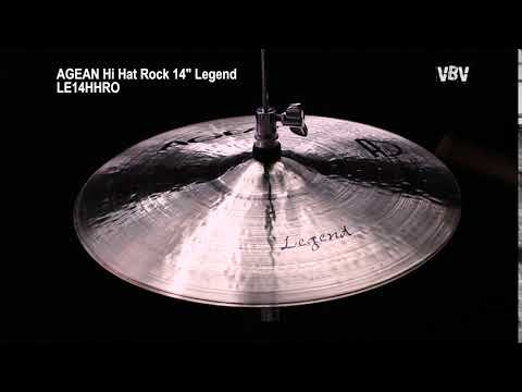 "14"" Hi Hat Rock Legend video"