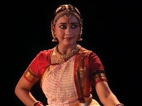 Bharatanatyam performance by Rajashree Warrier based on a Swathi Thirunal�s composition