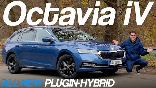 all-new Skoda Octavia iV Plugin-Hybrid FULL REVIEW 2021 (Estate)
