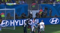 FIFA WM 2014 - Frankreich vs. Deutschland GOAL Hummels 1-0 (04.07.2014)