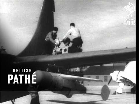 Radar Guided Bat Bomb (1946)