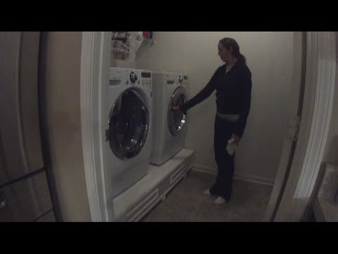 How to build a front load washer dryer pedestal youtube how to build a front load washer dryer pedestal solutioingenieria Gallery