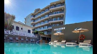 Europa Hotel 3 Европа отель Греция Родос обзор отеля территория пляж