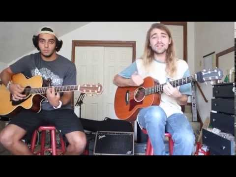 "Rebelution ""Count Me In"" Acoustic Cover by Jacob Kattan and Bryan Mahon"