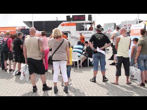 Ritchie Bros. miniature truck auction for charity @Truckstar Festival 2013