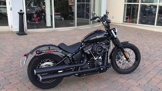 2018 Harley Street Bob