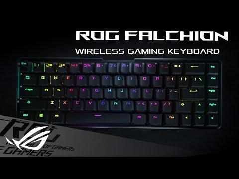 Asus presenterar ROG Falchion Trådlöst tangentbord med 65%-design