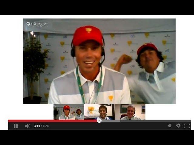 Presidents Cup Hangouts: Matt Kuchar and Jason Dufner