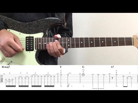 【タブ譜あり】サレンダー/ポルカドットスティングレイ(スローテンポver)リードギター 弾いてみた!