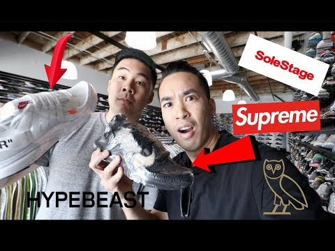 """HYPEBEAST SHOPPING ON FAIRFAX LA, CALI """"SUPREME, SOLE STAGE, OVO, UNDEFEATED"""""""