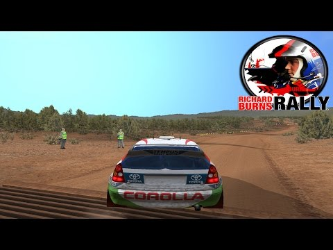 Richard Burns Rally - Quick Stage In The Toyota Corolla