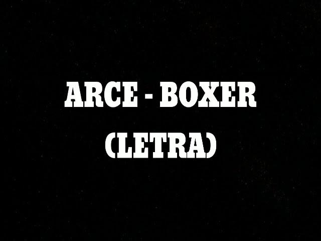 ARCE - BOXER (LETRA) Chords - Chordify