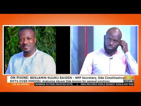 Rifts Over MMDCEs: Analyzing Akyem Oda tension for general solutions (22-4-21)
