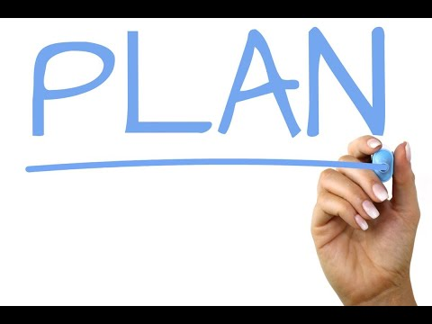 Word for Wednesday: Plan