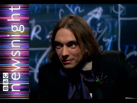 Let yourself flow through the equations says mathematician Cedric Villani - Newsnight