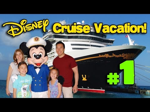 The DISNEY CRUISE ADVENTURE Begins!!! PART 1 - Heading to Florida! In 4K