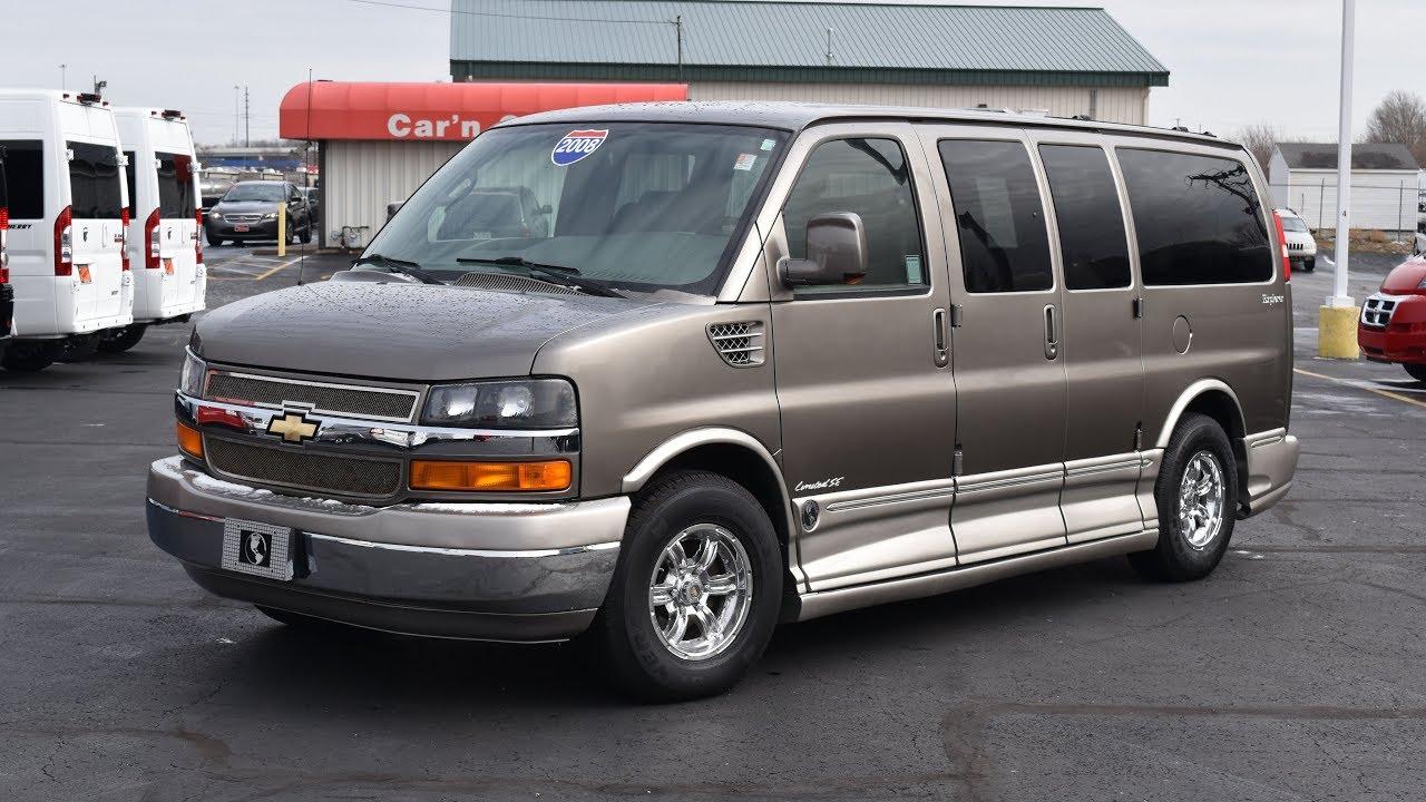 2008 Chevrolet Explorer Limited Se 7 Penger Conversion Van Quick Walkthrough Cp15471t