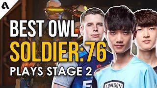 Best Overwatch League Soldier: 76 Plays | OWL Stage 2 ft. aKm Birdring Fleta & more!