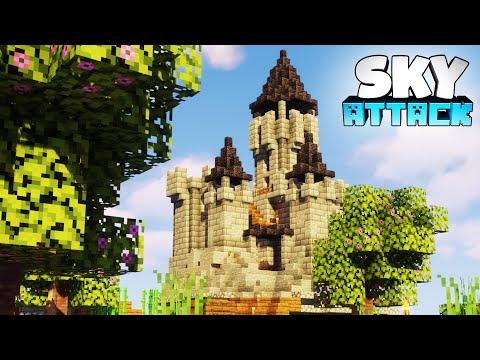 Burg bauen in Minecraft Skyblock 🚀 Minecraft Skyblock - Sky Attack #10