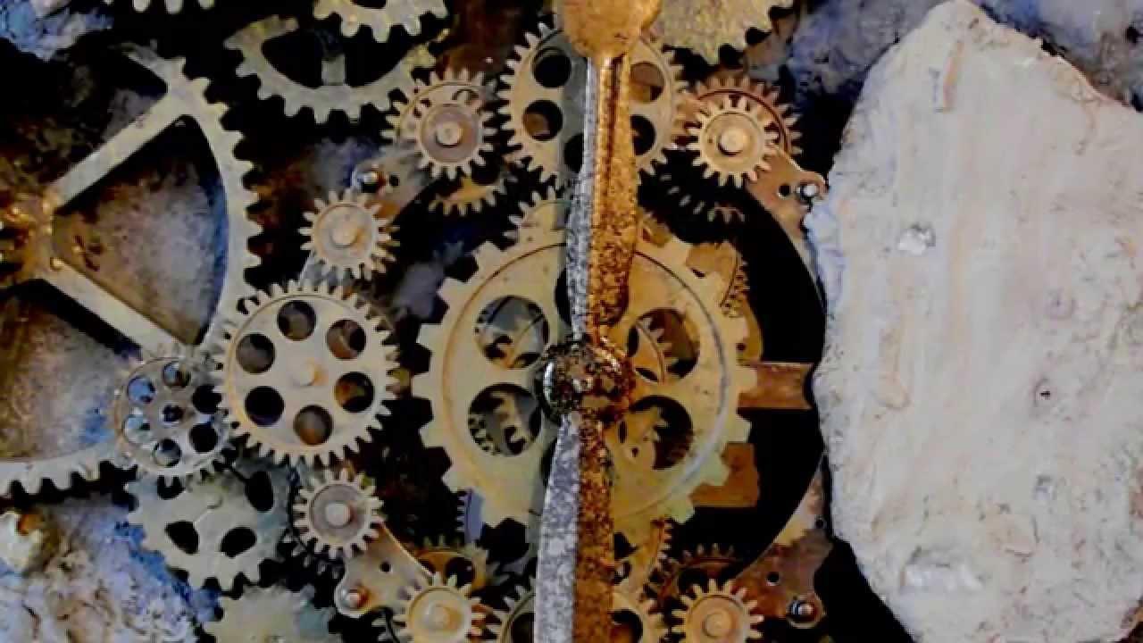 3d Max Wallpaper Giant Gear Clock Xix Antique Wall Clocks Youtube
