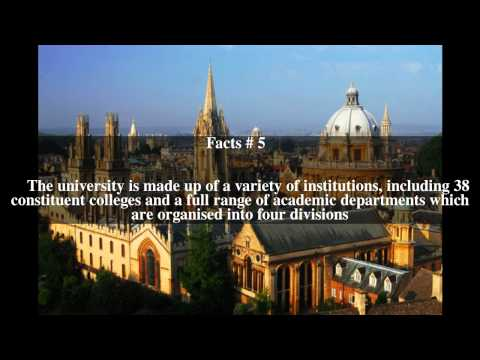 University of Oxford Top # 10 Facts