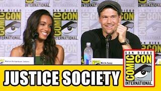 JUSTICE SOCIETY OF AMERICA Atends of Tomorrow Season 2 Comic Con Panel