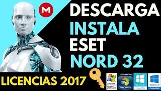 Como Descargar e Instalar Eset Nord 32 9 + Licencias 2017 | Windows XP/7/8/10 32 y 64 bits MEGA