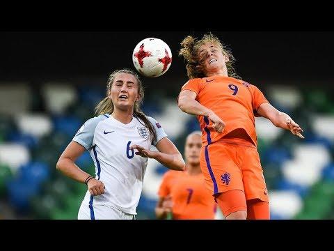 ENGLAND VS HOLLAND @ THE UEFA U19 WOMENS CHAMPIONSHIPS IN BELFAST!