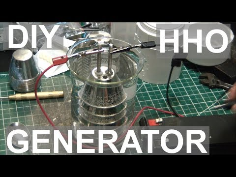 DIY HHO Generator for Torch - ElementalMaker