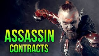 Skyrim - Funny Assassin Contracts