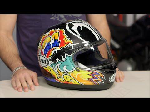 Arai Corsair X Nakasuga Helmet Review at RevZilla.com