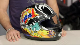 arai corsair x nakasuga helmet review at revzilla com