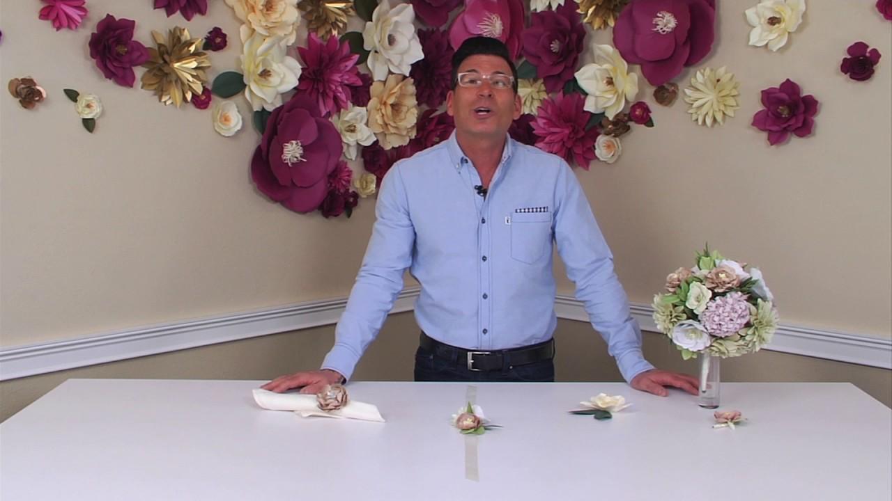 DIY Wedding Accessories & Décor with David Tutera | Sizzix DIY Kit ...
