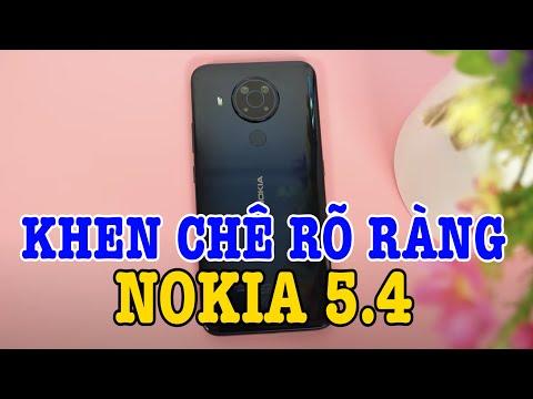 Khen chê rõ ràng Nokia 5.4 : Có đủ sức đấu Vsmart Live 4 không?