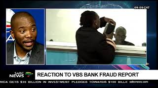 DA leader - Reaction to VBS Bank fraud report