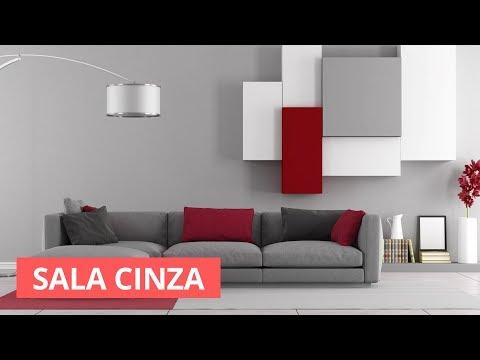 Sala Cinza - Dicas e inspiração para decorar seu lar