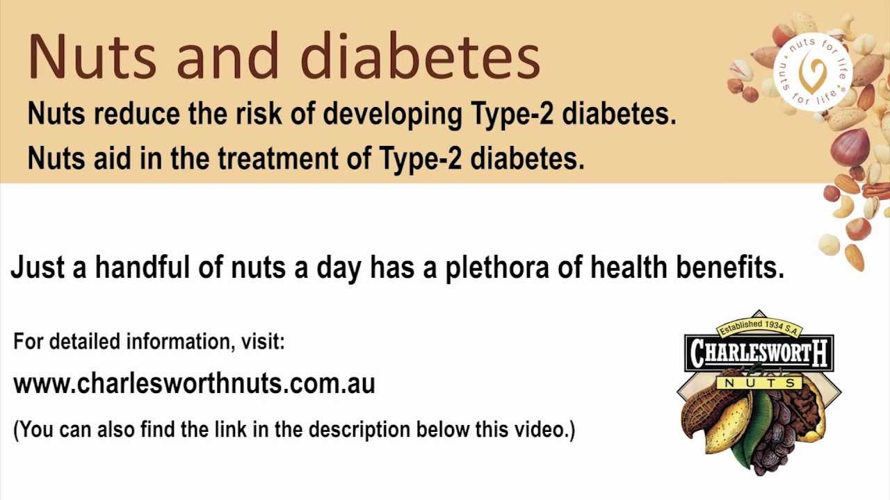 Nuts and Diabetes - YouTube Almonds And Diabetes