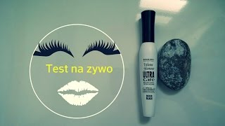 TEST na Żywo - Maskara Bourjois Volume Glamour Ultra Care