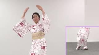長野里美さんが踊る「雁金をどり」レッスン用の動画です‼